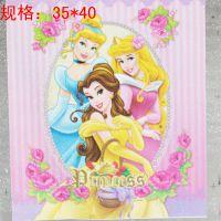 0广州厂家供应 迪士尼卡通动漫米妮冰雪公主服装烫画