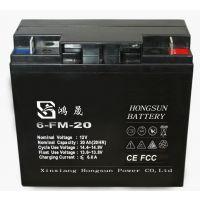 供应12V20AH电瓶电动车、电动汽车专用免维护蓄电池
