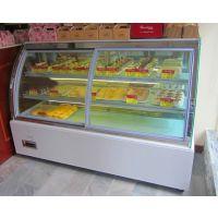 圆弧甜品展示柜 圆弧生日蛋糕柜 弧形蛋糕柜价格