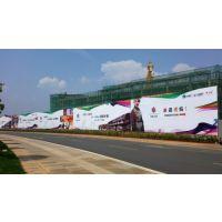云南省内高空安装作业钢结构外墙大牌,地产钢架构桁架展示牌