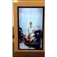 室内LCD透明显示屏应用