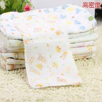 西松屋26*26cm纱布手帕批发 婴儿小方巾喂奶巾 宝宝小毛巾手帕
