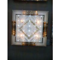 供应供应客厅现代水晶灯 led客厅水晶灯餐厅水晶灯 古镇平板灯批发