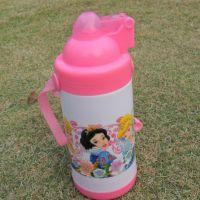 公主斜挎保温水壶 迪士尼儿童水杯