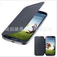 超薄 三星S4手机套I9500手机保护套壳 拆后盖左右翻原装皮套批发