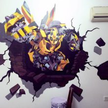 供应江西鹰潭贵溪 余江 文化墙手绘 彩绘 喷绘制作
