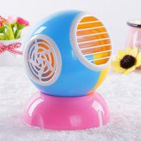 供应新款香味风扇 USB无叶迷你小风扇创意香水空调扇 可制冷 厂家批发