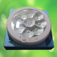 供应批发生产红外线感应吸顶灯、LED声控灯消防感应灯带电池消防功能