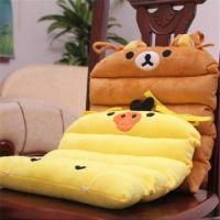 毛绒玩具轻松小熊黄色小鸡坐垫 椅垫汽车坐垫