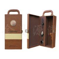 新款单支豪华装酒盒(皮酒盒,皮酒箱,双支酒盒,木箱)