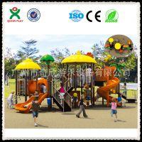 厂家直销滑梯组合大玩具组合大型户外游乐设备QX-007A