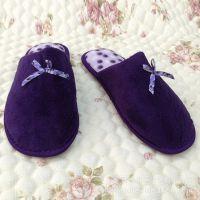 时尚珊瑚绒女士家居地板鞋 保暖鞋 各种款式 大量批发【图】