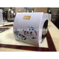 厂家自销 新款加厚塑料印花卷纸巾盒 卫浴用品 中国风青花瓷纸盒
