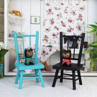zakka杂货 迷你小凳子 木质座椅小摆件 拍照道具 木质工艺品批发