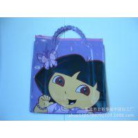 供应PVC防水购物袋 欧美时尚环保手提物袋 棉布袋 麻布袋 广告袋