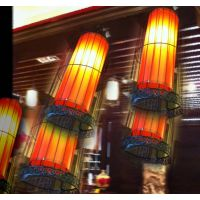 铁艺鸟笼灯吊灯中式仿古欧式现代落地灯酒店茶楼餐厅灯具现货特价