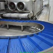 郑州供应模块式塑料网带线厂家—快递分拣线—爬坡皮带机 郑州水生机械设备