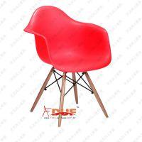 【天天向上】简约职工椅高档餐厅椅子座谈椅电脑椅木架出口品质