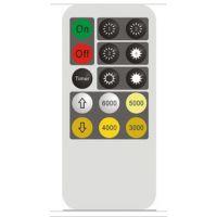 控制多路LED灯调光红外线遥控器、8键调光定时LED电子蜡烛遥控器