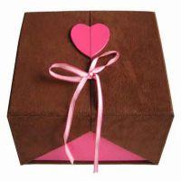亿形包装厂家定做精美巧克力包装盒 高档礼物包装盒