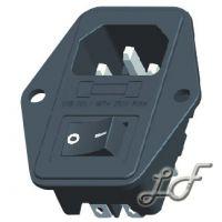 供应电源插座、三合一电源插座、主机电源插座