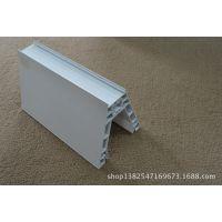 PVC挤塑加工 开模定制白色PVC塑料挤出产品 耐磨 耐冲击塑料型材