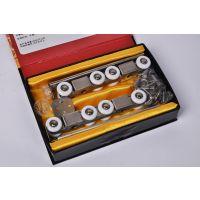不锈钢镀铬吊轮 滑轮进口尼龙王轮子 规格4 6 8寸 质量保证