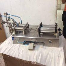 CHQY全气动芝麻油香油液体灌装机,市场包装机械产品营销方法大全