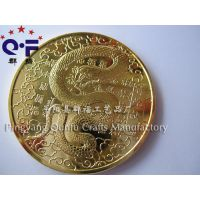 厂家专业生产 蛇年纪念币纪念章 婴儿出生纪念币 长命富贵