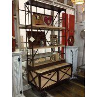 厂家直销 铁艺置物架 多功能组合架鞋架展示架展示柜简约花架