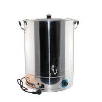 厂家直销不锈钢开水桶 不锈钢无磁电加热桶 凉水桶自动断电保温桶