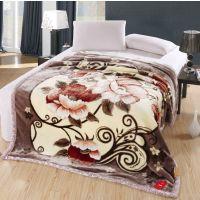 婚庆床品 秋冬保暖超柔加厚毯子/富贵系列拉舍尔毛毯5斤 13款