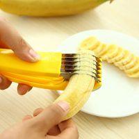 不锈钢材质香蕉切香蕉分片器水果切黄瓜切圆形切片分割