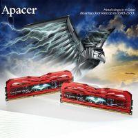 Apacer/宇瞻 雷鸟8G内存条 DDR3 8G 2133 超频条 4g单根*2套装