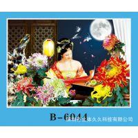 广州梅州汕尾 古典美女立体画 三维现代家庭装饰画 高清3D立体画