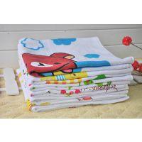 蜂巢120*60纱布浴巾 A-baby婴幼儿洗澡浴巾 儿童纯棉毛巾双层浴巾