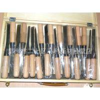 【啄木鸟】19件雕刀,木盒套装雕刻刀,木雕刀,木刻刀