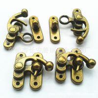 厂家大量生产合金 锌合金材质箱包锁 牛角锁 箱包配件