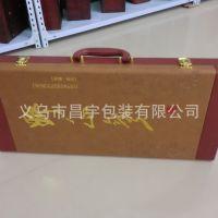 高档皮盒 皮质包装盒 人参盒  野山参专用盒 皮盒厂家