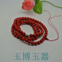 红珊瑚佛珠108颗手链女饰品手串多层转运美容养颜绿松石