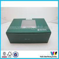 广东工厂专业定做 各种规格 纸杯蛋糕盒 手提透明开窗纸盒
