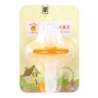 小鸡卡迪KD3044 幼儿安全水果叉宝宝叉子儿童餐具婴儿安全用品