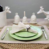 【安纳西M】高档欧式西餐浮雕陶瓷餐盘西餐盘餐具