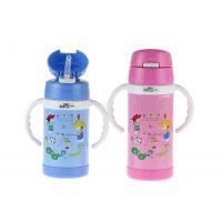 仿迪士尼真空儿童保温杯 创意儿童吸管壶 宝宝婴儿壶 厂家直销