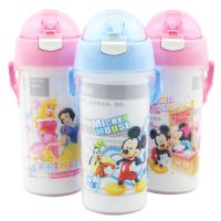 新款热销 正品迪士尼水杯塑料吸管杯儿童水壶卡通水壶批发