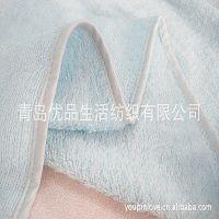 竹纤维浴巾批发 经编浴巾 不易抽丝方形浴巾 宝宝大浴巾 柔软抑菌