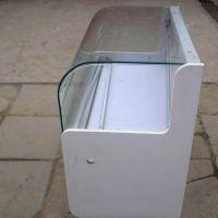 热弯玻璃厂 热弯柜台玻璃 10mm弧型玻璃 欢迎来图来样加工