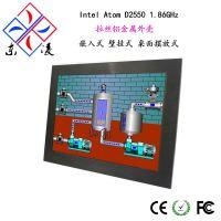 15寸全铝拉丝嵌入式工业平板电脑一体机【可定制OEM/ODM】