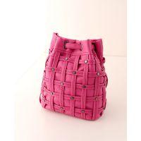 厂家批发2014新款编织水桶包铆钉包单肩包双肩包韩国女包品牌183