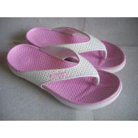 供应 夏季新款女式家居拖鞋 时尚撞色耐磨夹趾人字拖鞋 厂家批发